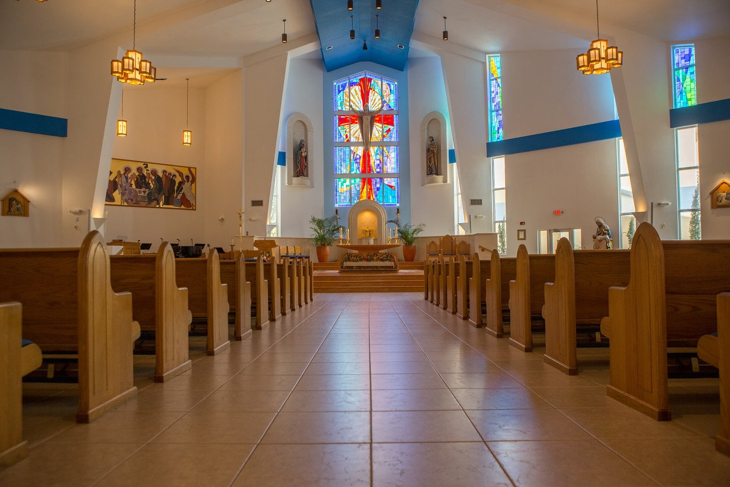 Our Lady of Divine Providence Catholic Church: May God Bless You!